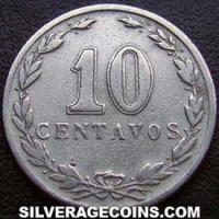 1937 Argentina 10 Cents