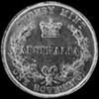 1857 (sy) Victoria Australian Gold Sovereign (wreath)