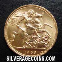 1964 Elizabeth II British Gold Sovereign