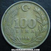 Turkey 100 Lira (Reverse)