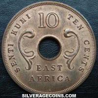 East African Bronze 10 Cents (Obverse)