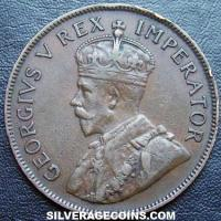 1933 George V South African Bronze Penny