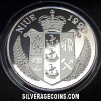 Niue 50 Dollars Silver Proof (Italy 1990 World Cup) (Obverse)