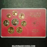 German Euro Set (Cased) (Reverse)