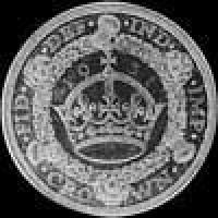 1929 George V British Silver Crown