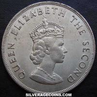 Elizabeth II Jersey 5 Shillings (Norman Conquest) (Obverse)