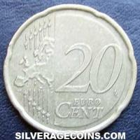2020 in sets Slovenia 20 Euro Cents