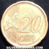 2020 France 20 Euro Cents