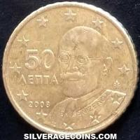 2015 in sets Greece 50 Euro Cents