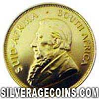 1980 South African Half Ounce Gold Krugerrand
