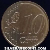 2015 in sets Malta 10 Euro Cents