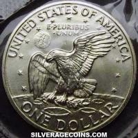 "1973 S proof United States ""Eisenhower"" Silver Dollar"