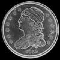 "United States ""Liberty Cap"" Silver Quarter Dollar (without motto) (Obverse)"