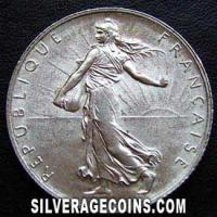 1898 French Silver 2 Francs