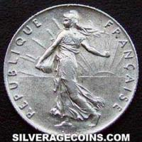 French Silver 50 Cents (Obverse)