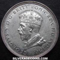 George V Australian Silver Florin (Parliament) (Obverse)