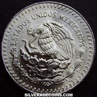 Mexican Libertad Silver 1 Ounce (type 1) (Obverse)