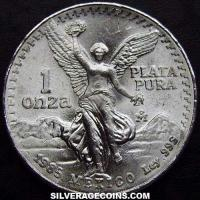 Mexican Libertad Silver 1 Ounce (type 1) (Reverse)