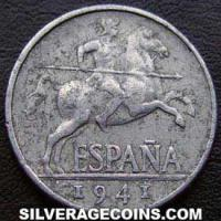 Nationalist Government Spanish 5 Cents (Obverse)