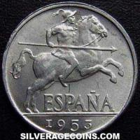 Nationalist Government Spanish 10 Cents (Obverse)